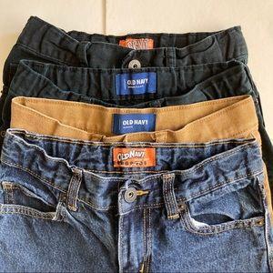 Boys Lot of 4 Old Navy Skinny Jeans Sz 8